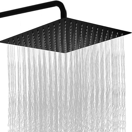 Amazon.com: GGStudy - Alcachofa de ducha cuadrada de acero ...