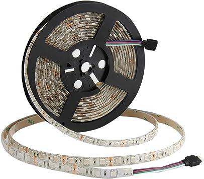 5m LED Streifen 12V RGB RGBW RGBWW SMD 5050 IP65 Stripe Band Licht Selbstklebend