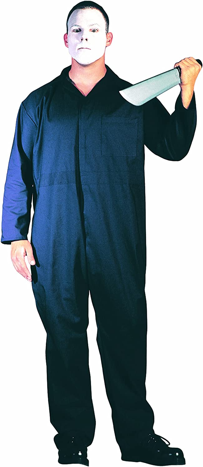 Amazon Com Rg Costumes Men S One Size Coveralls Navy Blue Clothing