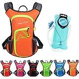 Asiki 12L Hydration Backpack with 2L Water Bladder - Waterproof Camping Hiking Running Biking Trekking Climbing Cycling Hydration Pack & Rucksack