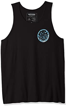 8554e0ac44f46 Amazon.com  Rip Curl Men s Wettie Central Tank Top  Clothing