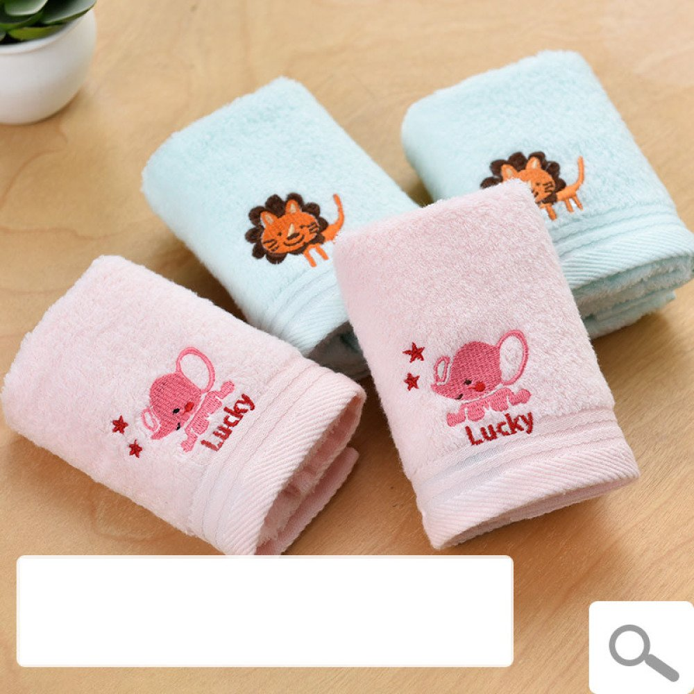 mouchoirs rectangulaires rectangulaires Serviettes en Coton lavables WCZ 4 Serviettes /éponge B/éb/é Serviettes pour Enfants de Classe A