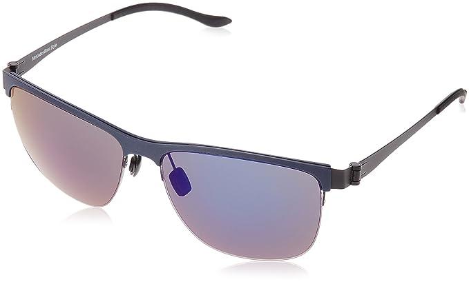 Mercedes-Benz Sonnenbrille M1038 Gafas de sol, Azul (Blau ...