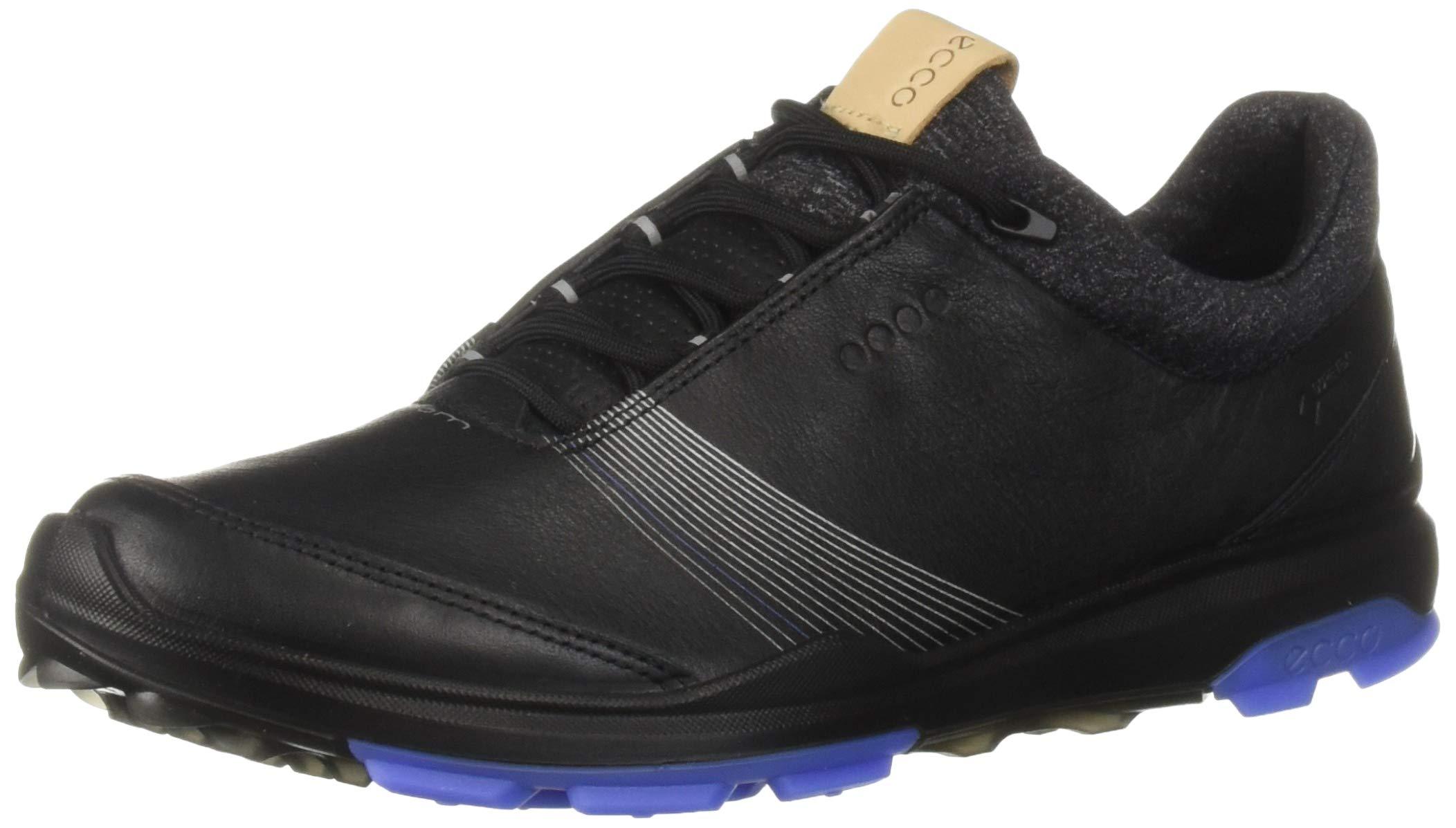 ECCO Women's Biom Hybrid 3 Gore-TEX Golf Shoe, Black, 35 M EU (4-4.5 US)