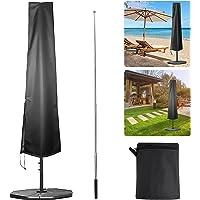 Parasolhoes, parasolafdekking met luchtventilatie, parasolafdekking met contractiestang, grote terrasparapluhoes…