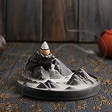 Backflow Incense Cone Burner Holder Lying Dragon Mountain Smoke Backflow Fragrance Fragrant Censer