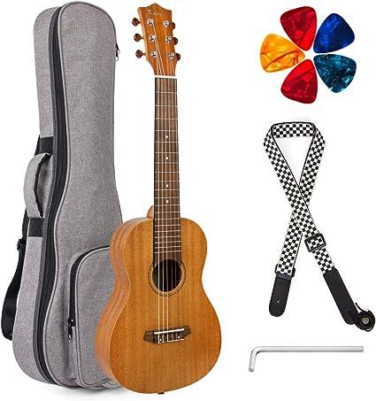 Guitalele 31 pulgadas Guitarlele Mini Guitarra de viaje Ukulele ...