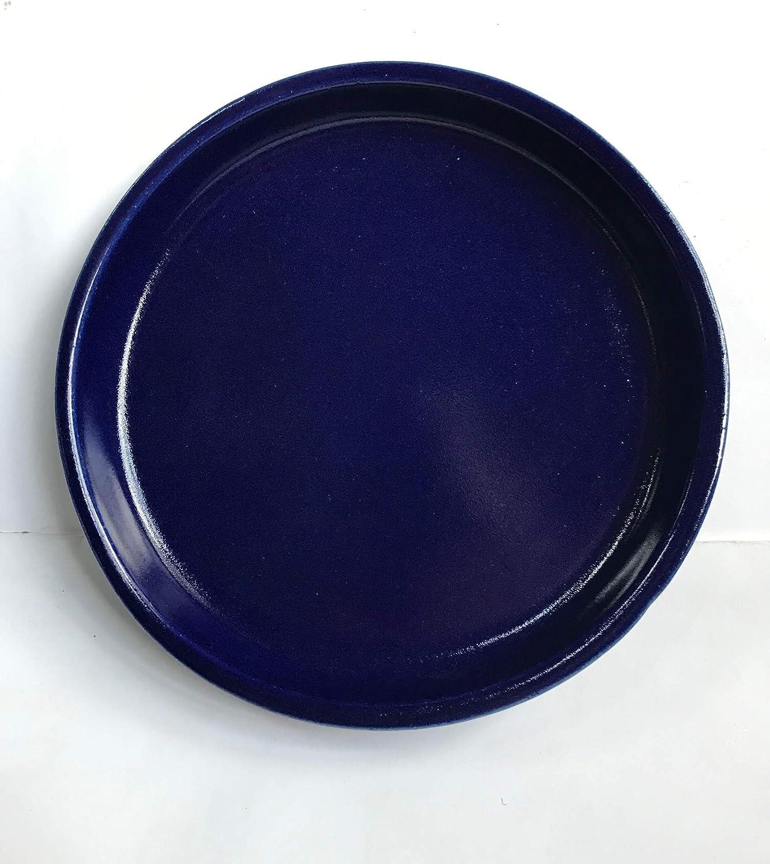 /Ø 26 cm K/&K Unterschale//Untersetzer rund f/ür Blumentopf Venus II ohne und mit Henkel 32x23 cm gr/ün aus Steinzeug hochwertige Keramik