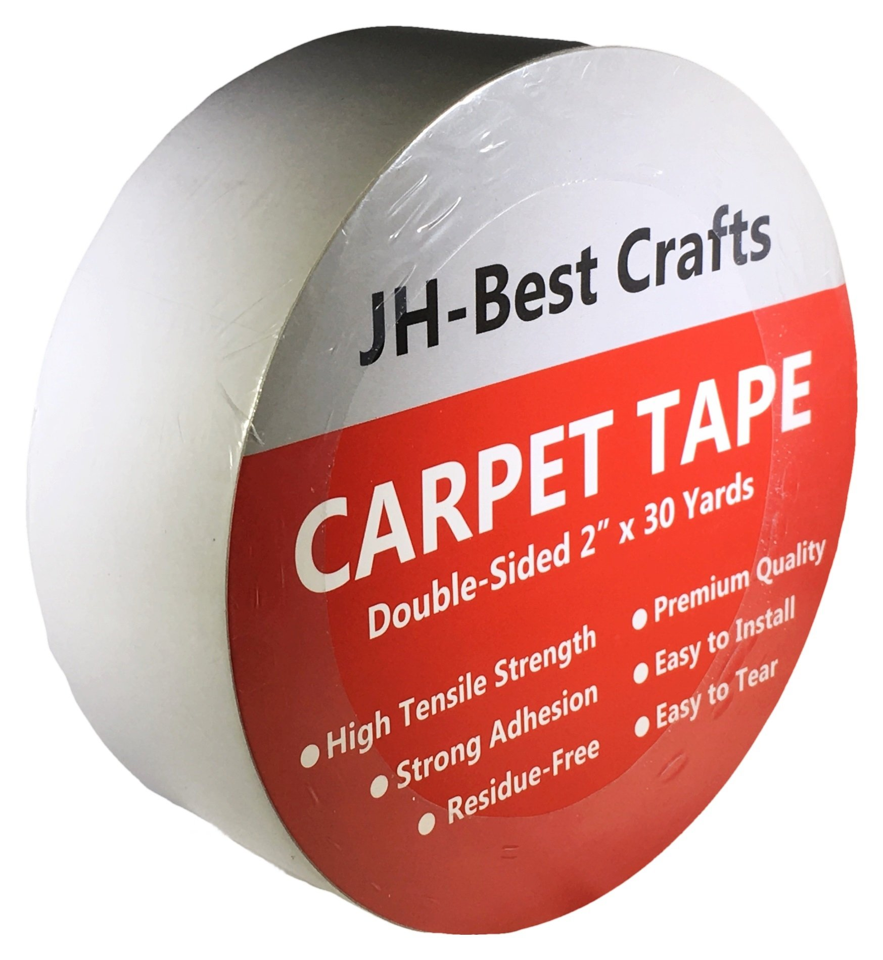 Double Sided Carpet Tape - Multi-Purpose Anti-Slip, 2-inch by 30 Yards