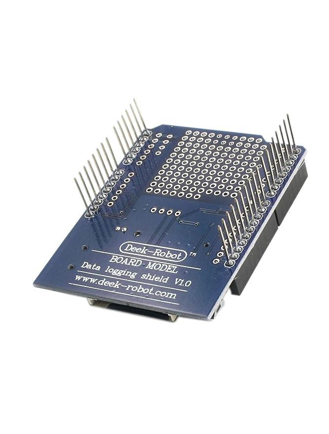 IIVVERR FAT16/FAT32 SD Card Data Logging Shield Module Board ...