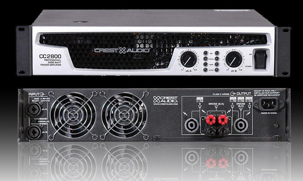 Crest Audio CC 2800: Amazon.es: Electrónica