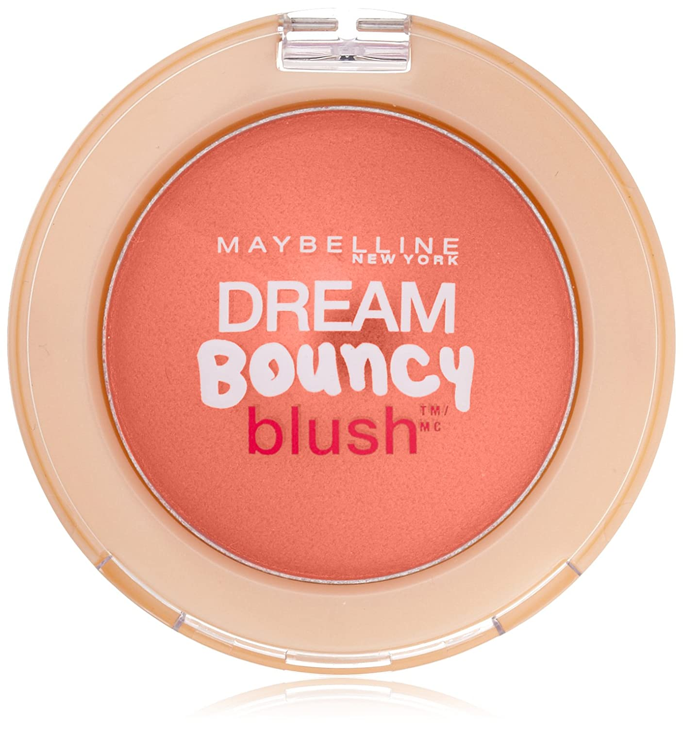 Maybelline New York Dream Bouncy Blush, Candy Coral, 0.19 Oz