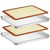 Wildone Baking Sheet with Silicone Mat Set, Set