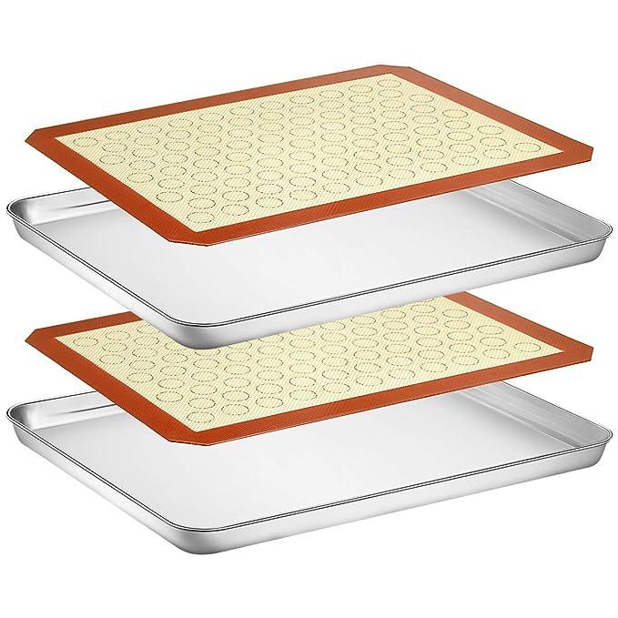 Amazon.com: Wildone - Juego de 4 sartenes de cocina de acero ...
