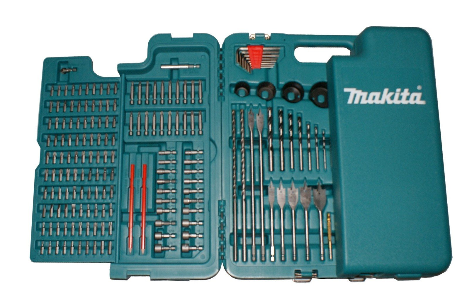 MAKITA 252 PIECE ACCESSORY KIT IN BLOW MOULDED CASE SCREWDRIVER, DRILLBITS GREAT FOR BUILDERS,TRADE,DIY by Makita (Image #5)