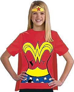 Kit disfraz de Wonder Woman DC Comics para niña: Amazon.es ...