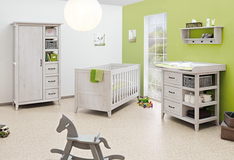 Pinolino Kinderzimmer Madita 3 Teilig Kinderbett 140 X 70 Cm