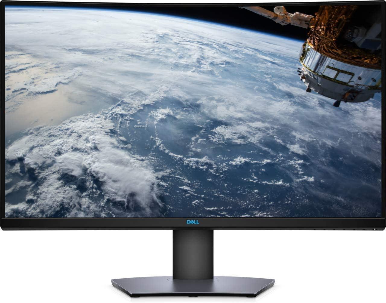Dell 32-inch QHD 1440p (2560 x 1440) Curved HDR Gaming Monitor, AMD Radeon FreeSync, HDMI & DisplayPorts, Up to 165Hz DisplayPort, 144Hz HDMI