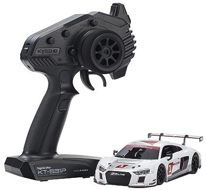 Amazon Com Kyosho Mini Z Mr 03 Audi Sports R8 Lms Z Rc Car Toys
