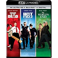 Deals on Shaun of The Dead / Hot Fuzz / The Worlds End Trilogy 4K Blu-ray