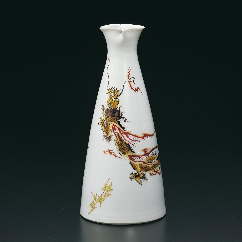 九谷焼 9号花瓶 龍 作家名 : 山中國盛 (伝統工芸士) B074PGXHJ1
