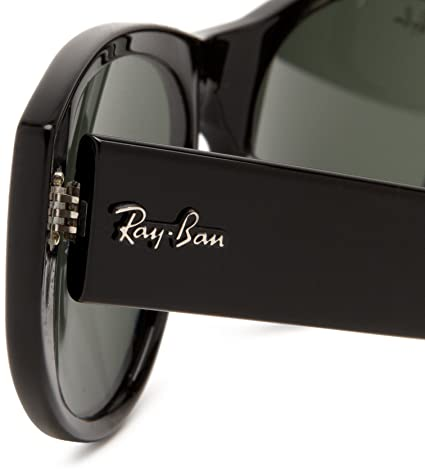 9fd6b46ae8 Ray-Ban 4152 601 Black Vagabond Cats Eyes Sunglasses Lens Category 3  Amazon.co.uk   Clothing