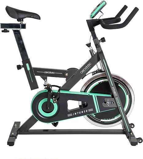 Bicicleta de Spinning Intense de Cecotec. Amortiguador, Pantalla ...