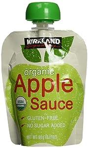 Kirkland Signature - Organic Applesauce - 24 Pouches (Pack of 2)