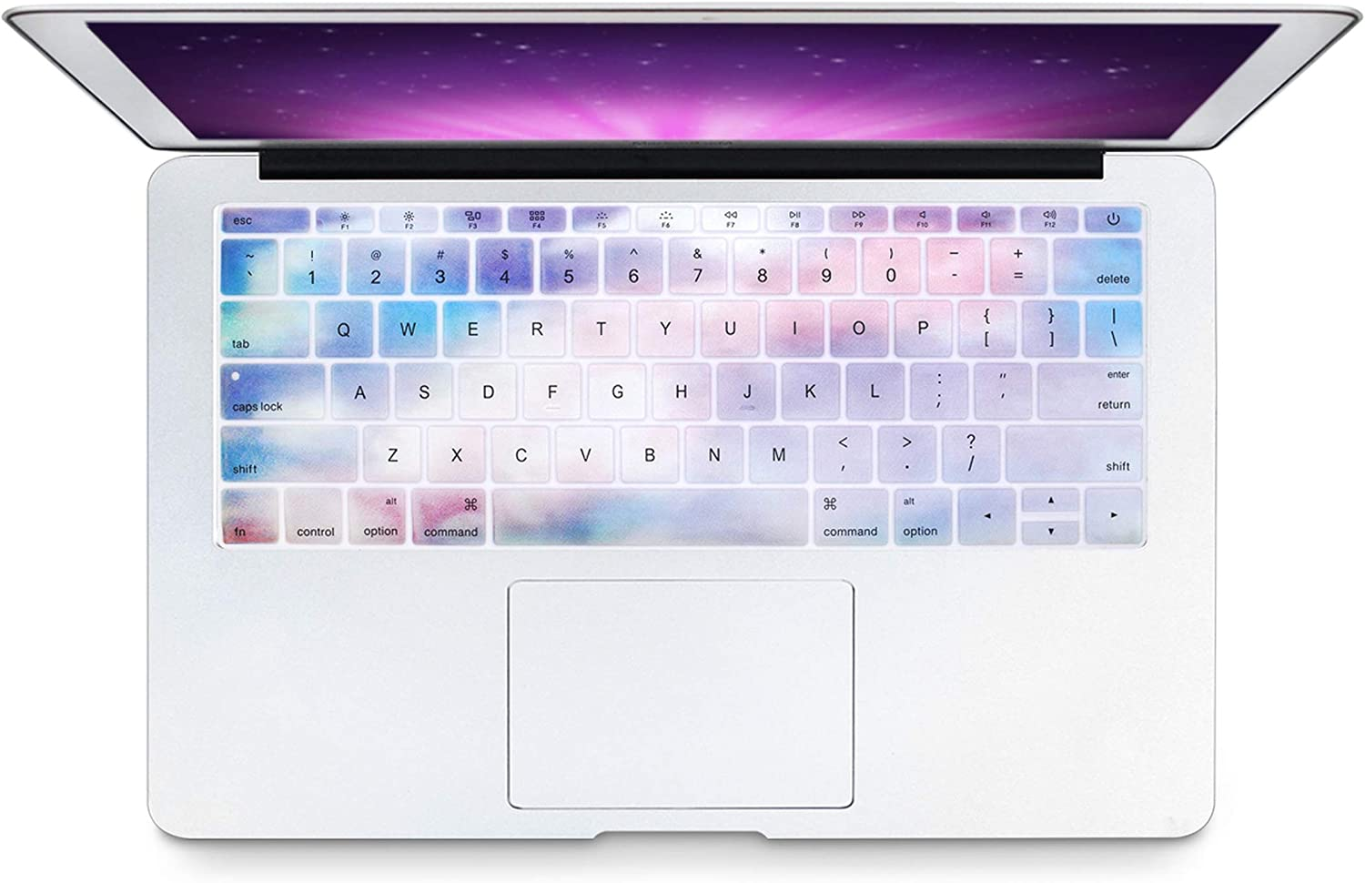 and Compatible for Version No Touch Bar Keyboard Cover Silicone Skin Compatible for MacBook Pro 13 A1708