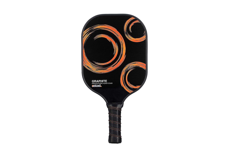ピックルボールパドル - 耐久性グラファイトピックルボールラケット コンポジットコア - 7-8オンス 人間工学に基づいたデザイン ピクルボール ラケットセット - 痛みのない完璧なグリップ - 目立たないエッジガード - 毎回 B07HFHJF8Y