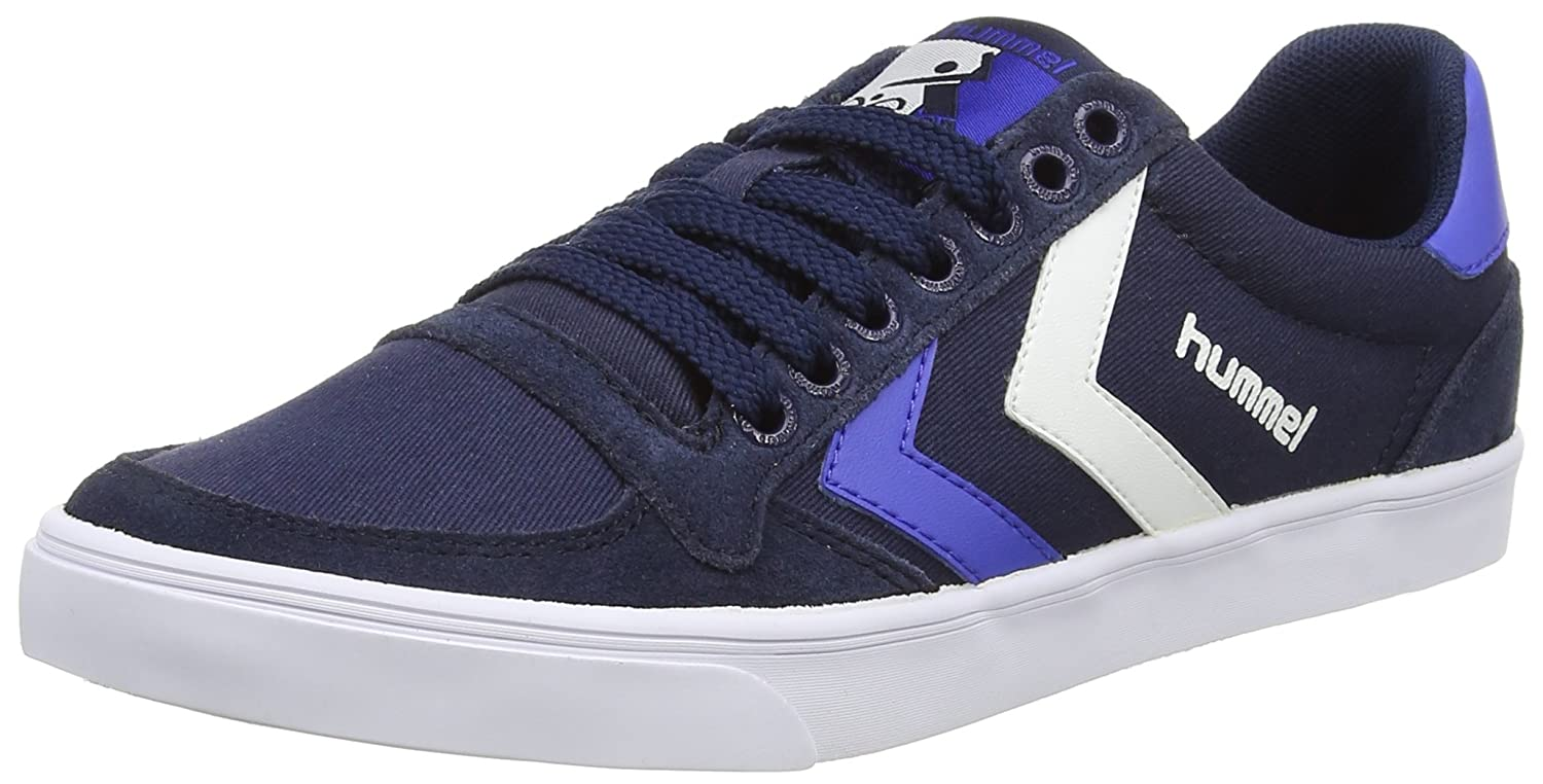 3.5 UK Total Eclipse 7364 Hummel Slimmer Stadil Duo LO 36 EU Unisex Adults/' Low-Top Sneakers Blue