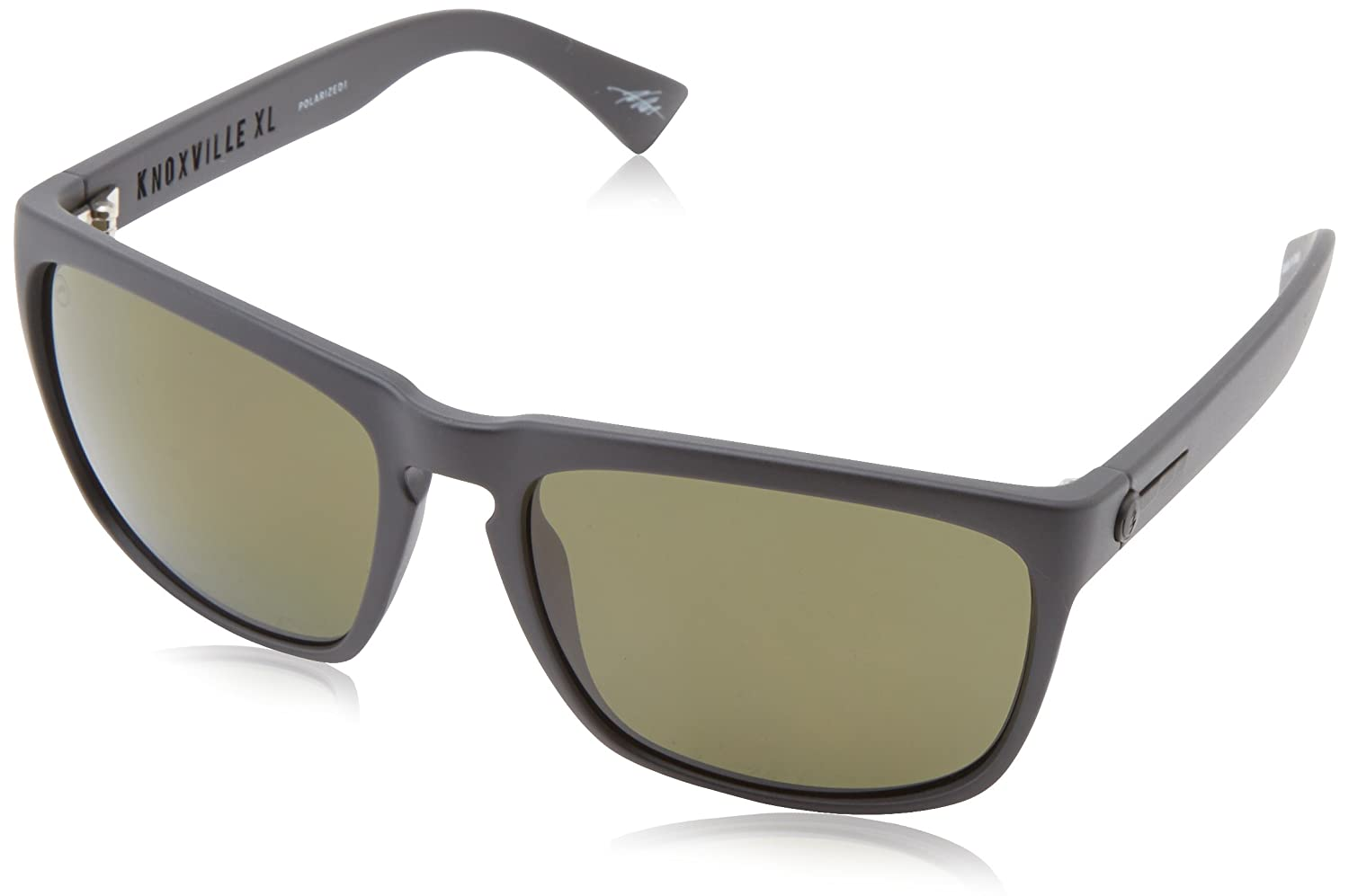 Electric Visual Knoxville XL Matte Black/OHM Polarized Grey Sunglasses