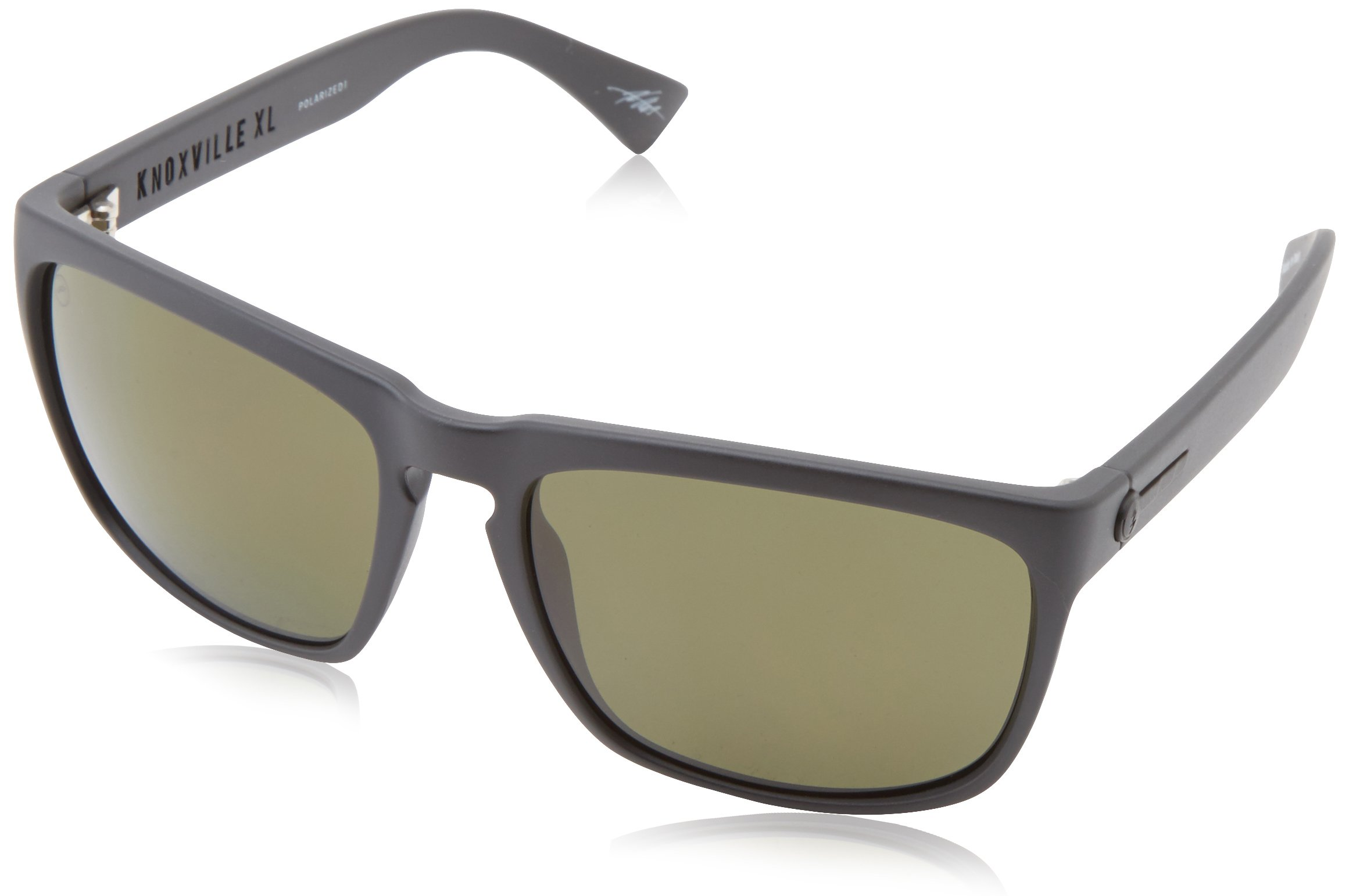 6179a07bf94 Electric Visual Knoxville XL Matte Black OHM Polarized Grey Sunglasses
