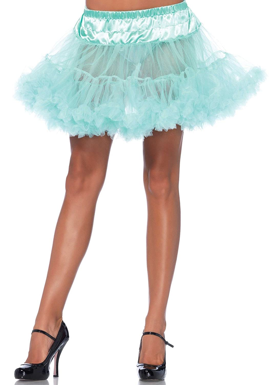 Leg Avenue Mint Tulle Petticoat 8990 34022