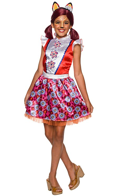 Enchantimals - Disfraz de Felicity Fox para niña, Talla 3-4 años ...