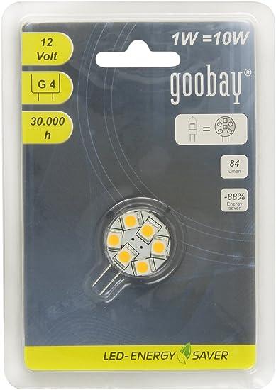 LED Stiftsockellampe dimmbar G41W(10W) 90 lm 3000 K