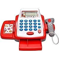 MQfit Super Market Cash Register Play Set Toy (Red)