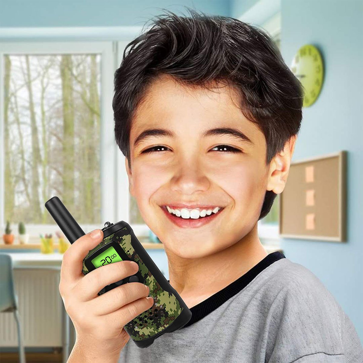 LET'S GO! DIMY Toys for 6-12 Year Old Boys, Walkie Talkies for Kids Boys Toys for 3-12 Year Old Boys Gifts for 3-12 Year Old Girls Birthday Presents New Gifts Green DJ91 by LET'S GO! (Image #2)