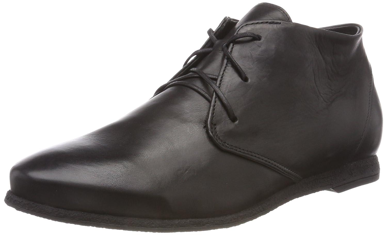 Think! Shua_383909, Zapatos de Cordones Derby para Mujer 43 EU|(000 Schwarz)