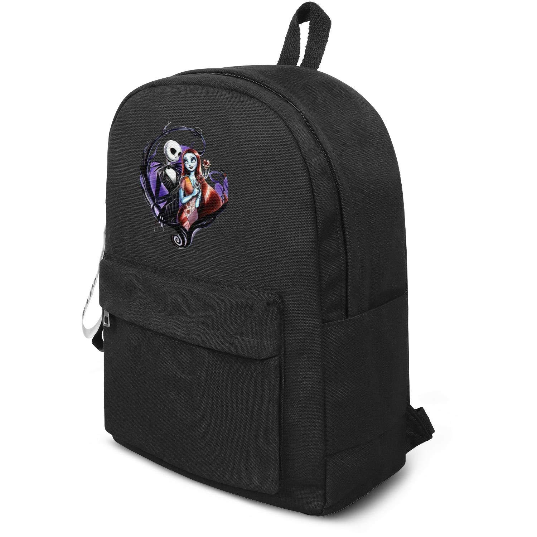 Shoulder Bag HTLYT Youth Original Quick-Dry Lightweight Canvas Crossbody Bag Nightmare-Classic-Before-Christmas-car-Decal-Jack-Skellington