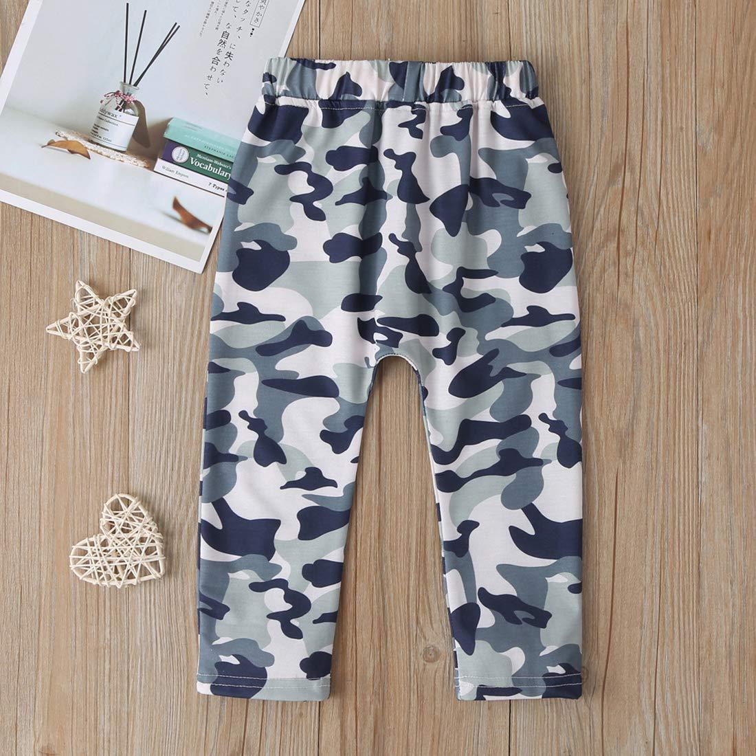 EISHOW Fashion Toddler Kids Baby Boy Zipper Stretch Slim Broken Hole Jeans Denim Trousers Pants