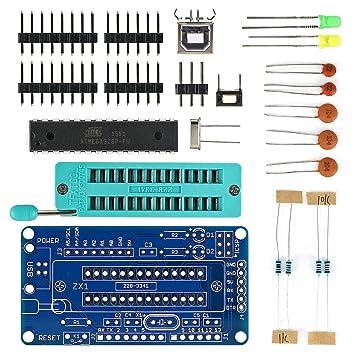 Mecotech UNO R3 ATmega328P Kit de Placa de Desarrollo con Piezas de Soldadura DIY con Soldador Tutorial para Arduino: Amazon.es: Electrónica