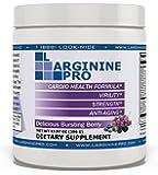 L-arginine Pro, #1 NOW L-arginine Supplement - 5,500mg of L-arginine PLUS 1,100mg L-Citrulline + Vitamins & Minerals for Cardio Health, Blood Pressure, Cholesterol, Energy (Berry, 1 Jar)