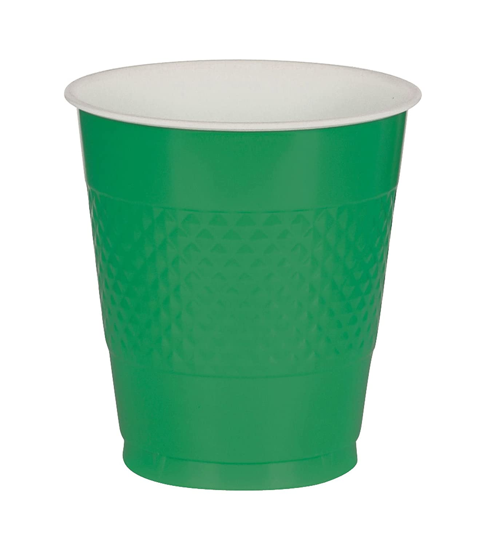 Orange 12oz 20 Pack Plastic Cups - Party Supplies
