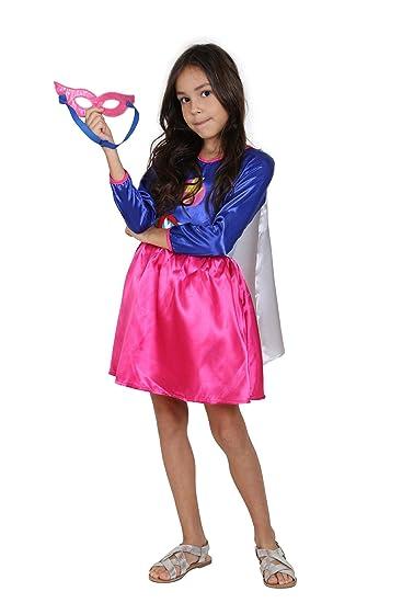 Amazon.com: Jason Party The Flash Girls Superhero Costume with Cape Super Girl Wonder Woman Costume: Clothing