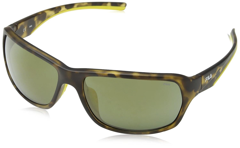 Fila SF9027, Gafas de Sol para Hombre, Gris (Azure Flower Pattern), Talla única: Amazon.es: Ropa y accesorios