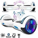 Magic Vida 8´´ Patinete Eléctrico Bluetooth Scooter Monopatín Auto-Equilibrio Patín