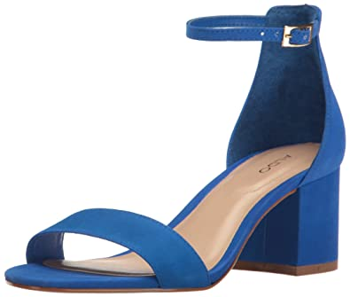 ALDO Women s Villarosa Heeled Sandal Navy Miscellaneous 7 ...