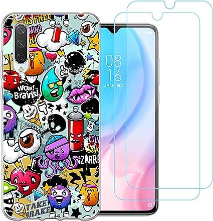 jrester Funda para Xiaomi Mi A3 / CC9e, Animal 438 Transparente ...