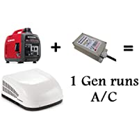 Hutch Mountain Run AC with 1 Generator - Microair Easy Start 364